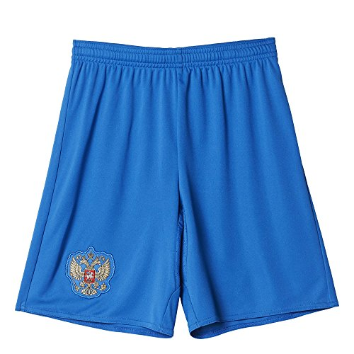 adidas Kinder Trikot/Auswärtsshorts Russland Replica Shorts Bright Royal/White, 164
