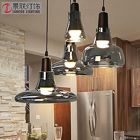 CAC 4 pezzi lampadario in vetro luce pendente Ristorante Bar e Cafe lampadario
