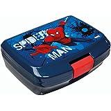 Undercover SPON9900 - Brotzeitdose Spiderman, circa 13 x 17 x 6 cm, blau