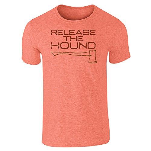 Pop Threads -  T-shirt - Uomo Heather Orange