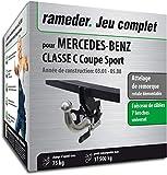 Attelage Amovible pour MERCEDES-BENZ CLASSE C Coupe Sport + faisceau 7 broches...