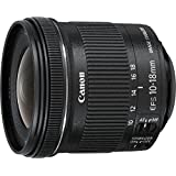 Canon 10-18 mm / F 4.5-5.6 EF-S IS STM Objectifs 10 mm