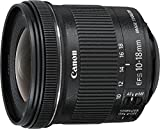 Canon 10-18 mm/F 4.5-5.6 EF-S IS STM 10 mm Objektiv (Canon EF/EF-S-Anschluss,true)