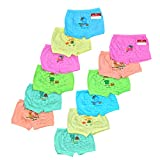 #7: Pride Apparel Baby Girls Brief Unisex ( PACK OF 12 ) ( 3 Months - 6 Years )