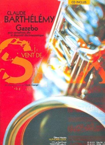 Barthelemy Gazebo Alto Saxophone Book/CD