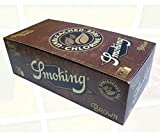 Smoking Brown - Cartine Senza Cloro Corte, Scatola da 50 Confezioni x 60 Cartine