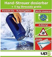 UPP Products Handstreuer inkl. 5Kg Gratis-Streusalz
