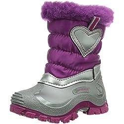 Spirale SONJA, Stivali da neve con caldo rivestimento interno Bambina, Rosa (Pink (fuxia 66)), 20