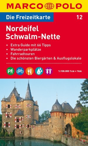 MARCO POLO Freizeitkarte Nordeifel, Schwalm-Nette 1:100.000