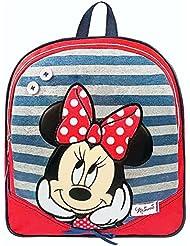 Minnie Mouse - mochila - de metal cremallera 31x26x9cm