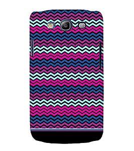 PrintVisa Cute Chevron Pattern 3D Hard Polycarbonate Designer Back Case Cover for Samsung Galaxy S3 Neo
