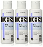 DHS SAL Shampoo 4 oz (Pack of 3)