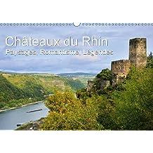 Châteaux du Rhin - Paysages, Romantisme, Légendes (Calendrier mural 2018 DIN A3 horizontal): Paysages romantiques de la vallée du Haut-Rhin moyen (Calendrier mensuel, 14 Pages ) (Calvendo Places)