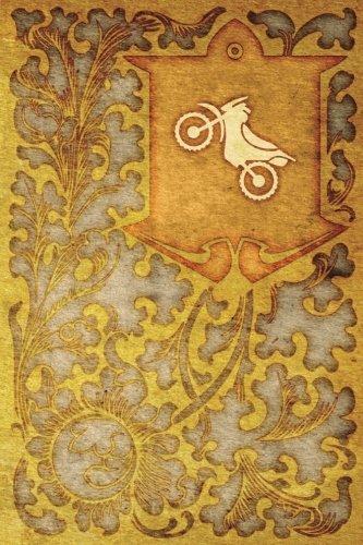 Monogram Motocross Notebook: Blank Journal Diary Log: Volume 60 (Monogram NouveauOne 150 Lined) por N.D. Author Services