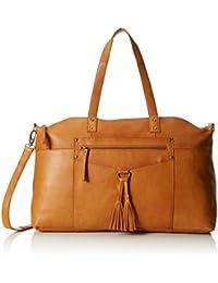 Pieces Pcdepti Leather Travel Bag, Sacs portés main