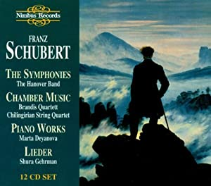 Schubert: Complete Symphonies/Chamber Works/Lieder/Piano Works by Nimbus