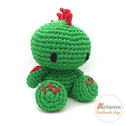 Drache XL - Amigurumi - Stuffed doll - Crochet - Handmade - Artama - Xl Drache