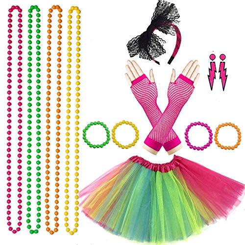 Lhasam 80s Fancy Dress Costume A...