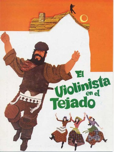 Fiddler on the Roof Plakat Movie Poster (27 x 40 Inches - 69cm x 102cm) (1972) Spanish