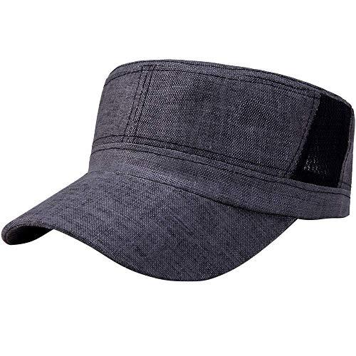 a6890c4056 Vanvo Unisex Military Style Army Flat Cap Vintage Baseball Cap Sport Sun  Hat Summer Best 2019