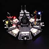 BRIKSMAX Kit de Iluminación Led para Lego Star Wars Transformación de Darth Vader, Compatible con...