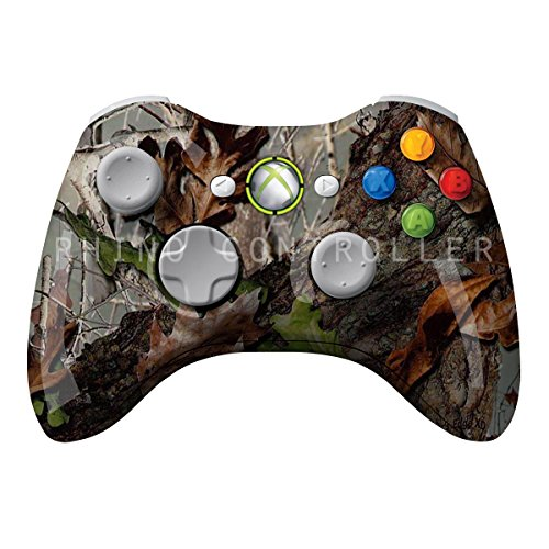 XBOX 360 Wireless Controller Glossy WTP-419-Timbers Edge-Painted- Uden Camo Brugerdefineret Mods - 360 Wireless Controller Xbox Camo