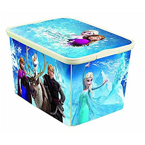 Preisvergleich Produktbild Disney Frozen Curver S Deko Box Eckig Spielzeug Kiste Aufbewahrung + Deckel