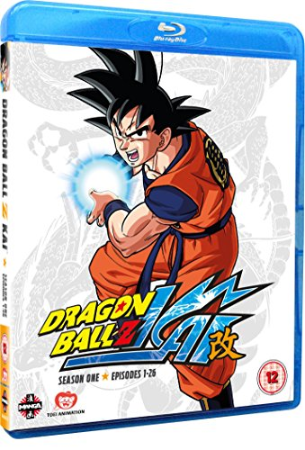 Dragon Ball Z KAI Season 1 (Episodes 1-26) Blu-ray [Reino Unido] [Blu-ray]