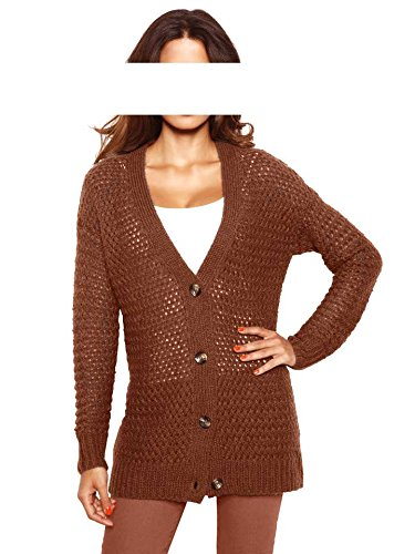 Heine - Best Connections - Gilet - Opaque - Femme Multicolore Canelle Marron - Canelle