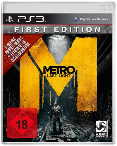 Koch Media GmbH Metro: Last Light - First Edition - 100% uncut - [PlayStation 3]