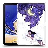 Head Case Designs Unter Dem Mondlicht Schlafen Traum Wolke Ruckseite Hülle für Samsung Galaxy Tab S4 10.5 (2018)