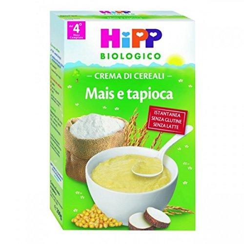 Babynahrung Bio Crema Mais Tapioca Istantanea 4M+ 200 G