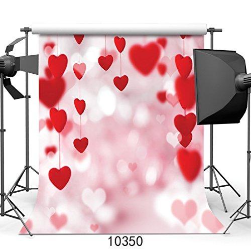 150x 210cm Valentine 's Day dünn Vinyl Fotografie Hintergrund individuellen Foto Hintergrund Studio Prop 10350 (Haunted Prop)