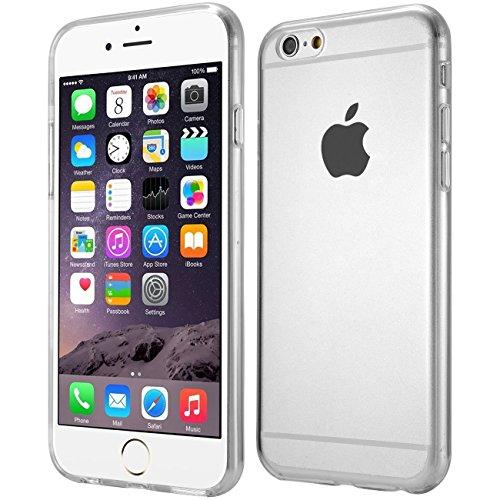wortek Designer High Quality TPU Silikon - Case für Apple iPhone 6 & 6S Schutz Hülle Transparent (iPhone 6 & 6S - 4,7 Zoll)