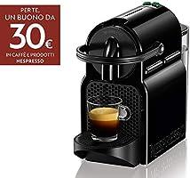 De'Longhi Nespresso Inissia EN80.B Macchina per caffè espresso, a capsule, 1260 W, 1 Tazza, 14 Decibel, 19 bar,...