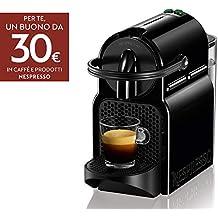 De'Longhi Nespresso Inissia EN80.B Macchina per caffè espresso, a capsule, 1260 W, 1 Tazza, 14 Decibel, 19 bar, Plastica, Nero (Black)