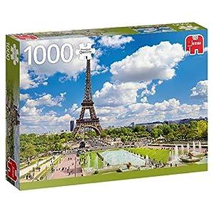 Premium Collection Eiffel Tower in Summer, Paris 1000 pcs Puzzle - Rompecabezas (Paris 1000 pcs, Puzzle Rompecabezas, Ciudad, Niños y Adultos, Niño/niña, 12 año(s), Interior)