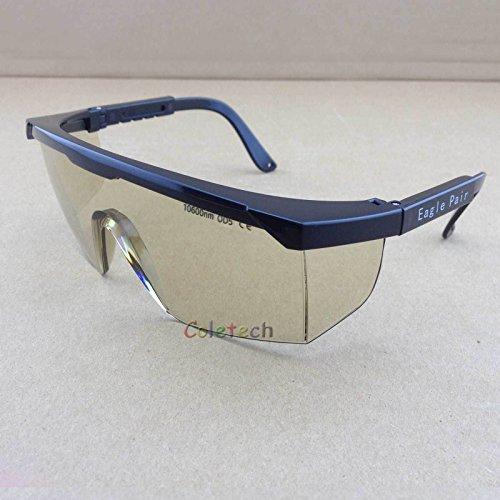 Laser-Schutzbrille HQ OD5+ 10600nm 10.6um CO2 CE EP-4-5 -