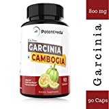 Potentveda Garcinia Cambogia Extract 70% HCA - ultra weight loss for Men