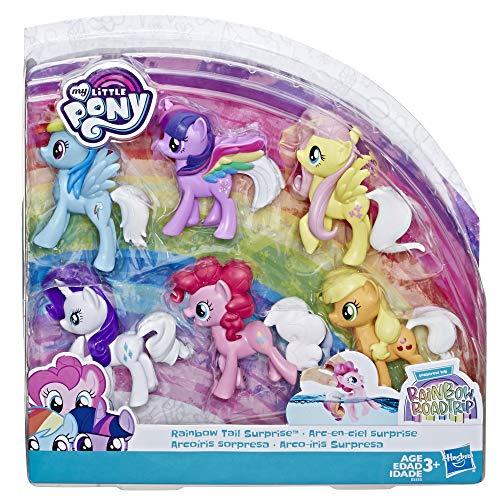My little Pony E5553EU4 MLP Farbenspiel Ponys, Mehrfarbig