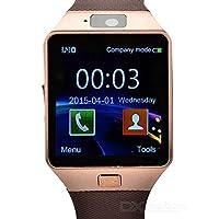 WotechsDZ09 Smart Watch Akıllı Saat Kameralı iOS ve Android Uyumlu (Siyah)