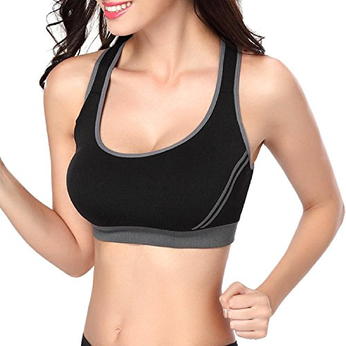 Mine-Tom-Mujer-Sujetador-Deportivo-Push-Up-Bustier-Con-Amplio-Correas-Fitness-Yoga-Camisetas-Sin-Mangas