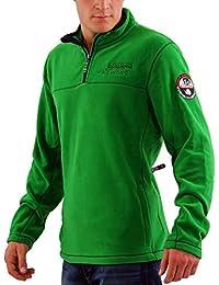 NAPAPIJRI Herren Winter Fleece Sweatshirt SMU TERLER Lawn Green B6OG51