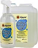 dipure New Fresh Air Geruchsentferner mit Mikroorganismen - Geruchsneutralisierer/Geruchsvernichter gegen Rauch-Geruch, Nikotin-Geruch (Nikotinentferner), Moder-Geruch uvm.