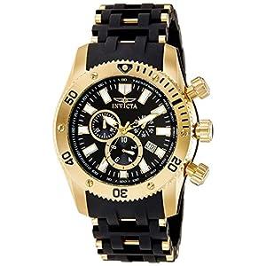 Invicta 0140 Sea Spider Reloj para Hombre acero inoxidable Cuarzo Esfera