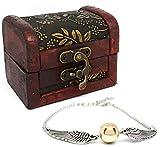 Doré de Vif d'or Bracelet + Boîte Cadeau PotterFans®
