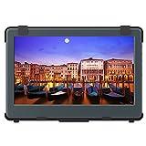 GeChic 1102H Tragbarer Monitore 11.6' FHD 1080p Eingebaute Batterie mit Eingänge HDMI VGA, Stromversorgung über USB, Ultraleicht, Lautsprecher Eingebautem, Rear Docking