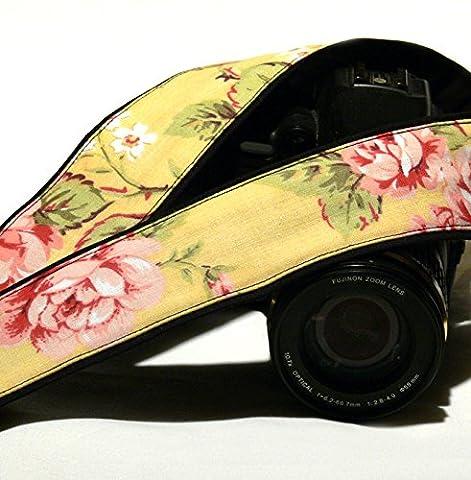Blumenmuster Kameragurt. DSLR Kamera Strap. Blumen Kameragurt. Canon Kamera Gurt. Geschenk für Sie. Kamera Zubehör,