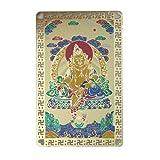 Yellow Dzambhala Talisman Card