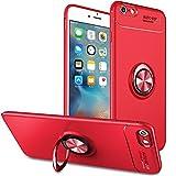 Slynmax Coque iPhone 6s Plus Rouge Bague Étui iPhone 6 Plus 6s Plus Housse de...